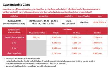 ราคา Private Japanese - Customizable Class by Pittarii